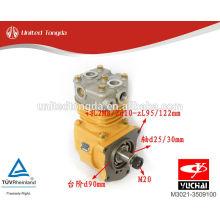 Aplicação de compressor de ar genuíno M3021-3509100 para YuChai YC6M