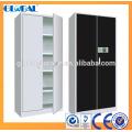 Armoire de bureau en acier / armoire de classement à 2 portes