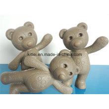 Brinquedo inflável de sopro plástico do bebê do urso de peluche mini para anunciar