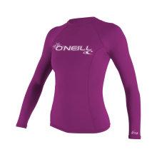 Защита от ультрафиолетового излучения Женские базовые шкуры с длинным рукавом Rashguard Top