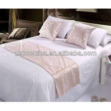 Fábrica de luxo nova chegada direta feita 4pcs conjunto de cama de hotel