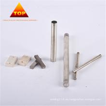 Electrodos de soldadura de aleación de tungsteno de plata de alta precisión