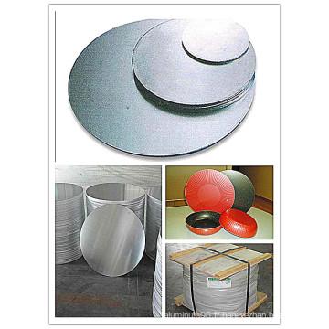 Cercle d'aluminium / disque d'aluminium A1050, 1100, 3003