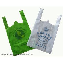 Kundenspezifische Größe und Farbe gewebte Einkaufstasche