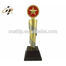Personalized Classical Metal Trophy For Office Table Decoration