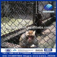 Оптовая дешевые Гальванизированный PVC Загородки звена цепи для Загородки зверинца животное сетки (Производитель)
