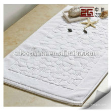 100% Cotton 32s Customized Size Available Wholesale Luxury Bath Mat
