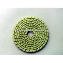 Wet diamond polishing pad for Grabite