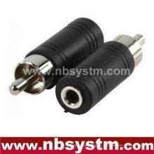 Conector RCA para adaptador jack de 3,5 mm