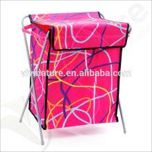 Cesta De Lavagem De Lona Do Hotel \ Caixa De Hamper Da Lavanderia \ Folding Laundry Bag