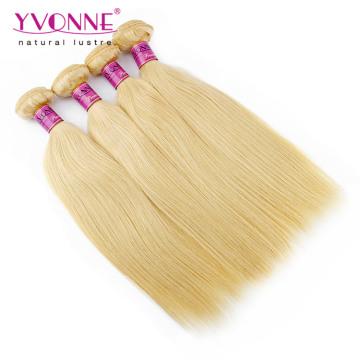 Weave peruano reto do cabelo humano da cor # 613