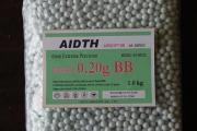Airsoft Biodegradable BBS 6mm 0.20g
