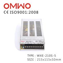 Fuente de alimentación conmutada de ventas calientes Wxe-210s-5