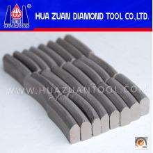 Tipo de techo segmento de broca de orificio cuadrado para corte de hormigón