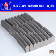 Roof Type Square Hole Drill Bit Segment for Concrete Cutting