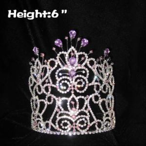 Coronas de concurso de diamantes de 6 pulgadas de altura