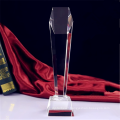 Custom Academy Crystal Glass Champions Trophy Awards