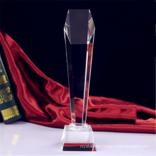 Custom Academy Crystal Glass Champions Trophy Awards