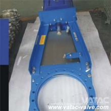 Pneumatic Slurry Knife Gate Valve Wafer Type Ggg40&Gg25 Iron