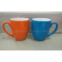 Taza de cerámica de dos tonos, taza de café, taza promocional