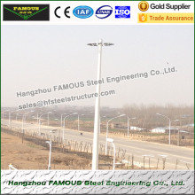 Monopole Towers And Lattice Towers Industrial Steel Pole