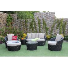 Poly Rattan Patio Garten Couch Set