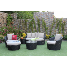 Poly Rattan Patio Garden Couch Set