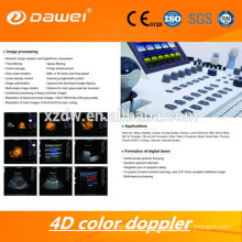 live 4D echography ultrasound machine & 3D color doppler ultrasound scanner price & USG price