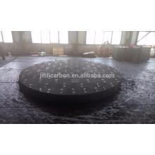 Briques de carbone précuites utilisées dans les fours à arc submergés