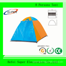 8 Persons Double Layer Waterproof Travel Tent