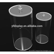 Round Acrylic Transparent Box