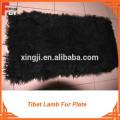 Real Lamb Fur Plate, piel de Mongolia
