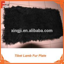 Teñido de la placa de piel de cordero de Mongolia