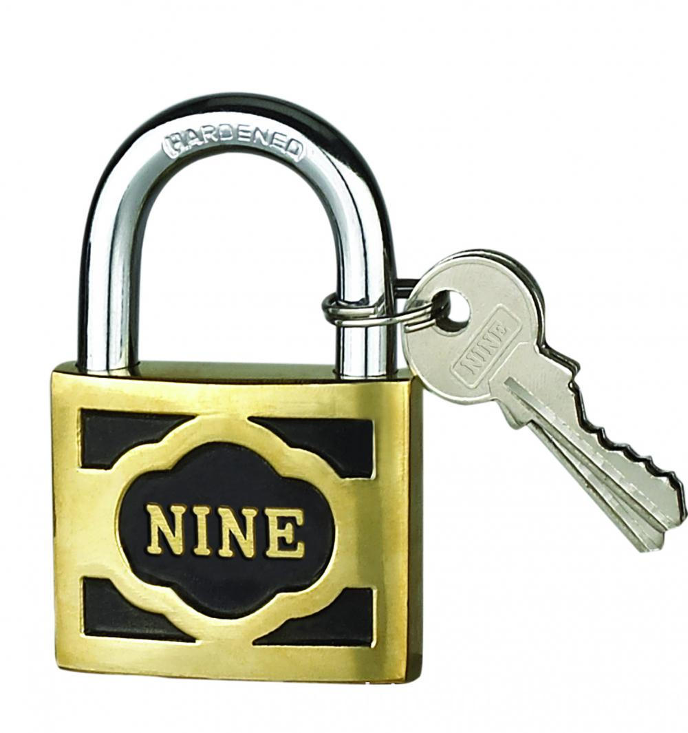 40MM M-thick Cast Brass Padlock With Short Shackle