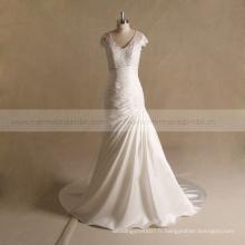 2016 Alibaba ivoire accepte la robe de mariage paypal