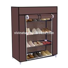 5 rangées de chaussures rack 20 paires de tissu non-tissé tour organisateur armoire