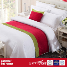 Poly Decoration Fabric Bed Runner for Motel