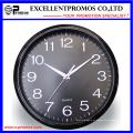 12 polegadas logotipo de impressão rodada relógio de parede de plástico (EP-Item12)