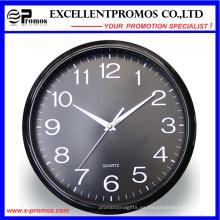 12inch Logo impresión de plástico de pared de reloj de pared (EP-Item12)