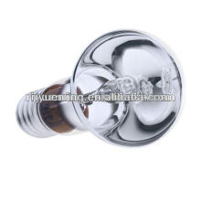 Reflector spotlight shaped halogen energy savers.