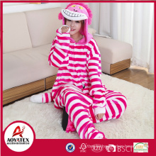 the Cheshire cat coral fleece women animal bathrobe