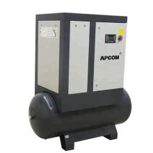 APCOM Factory Direct 5HP 7.5HP 10HP 15HP 20HP 25HP Screw Air Compressors Dryer With Air Tank