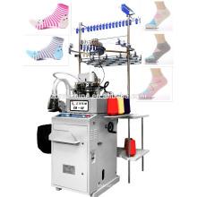 china computerized 3.75 llanura y terry calcetín máquina que hace punto para la manguera