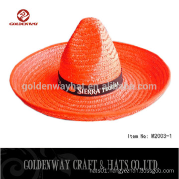 promotional straw sombrero mexican hat