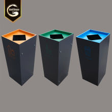 Stainless Steel Waste Bin Fancy Dustbin