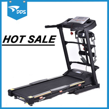 Folding mini mechanical treadmill