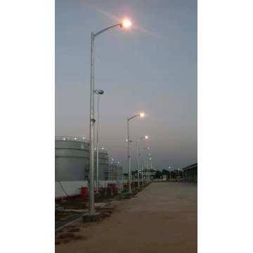 5M 8M Galvanized Steel Lamp Post