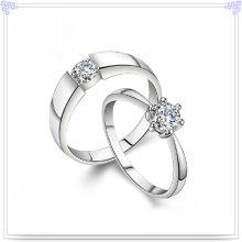 Кристаллическое кольцо Вспомогательное оборудование способа 925 ювелирных изделий стерлингового серебра (CR0009)