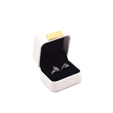 Packaging Gift Box Wholesale Custom Logo Jewelry Box Leather Ring Box