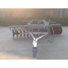 Máquina de aragem grade de disco pesado de compensação de grade de trator